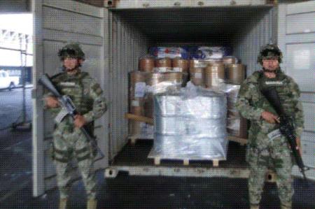 Aseguran precursores de droga en Michoacán