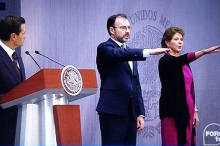 Regresa Videgaray al gabinete y renuncia Ruiz Massieu
