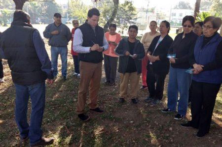 Llevan brigada de servicios públicos a colonia  José Luis Mora