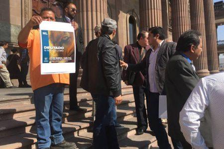 Llevarán protesta a domicilio a gobernador y diputados