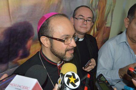 Obispo recomienda inculcar y practicar nuevos valores