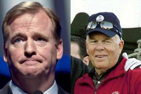 Padre de Tom Brady afirma que Roger Goodell mintió