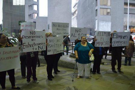 Protestan contra impuesto a casinos