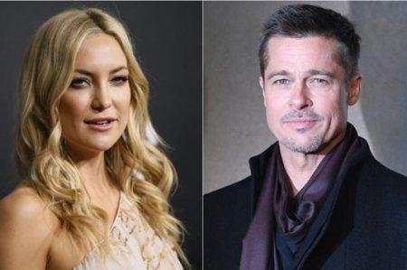 ¿Qué hay entre Brad Pitt y Kate Hudson?
