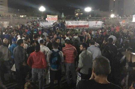 Regresan las protestas por gasolinazo