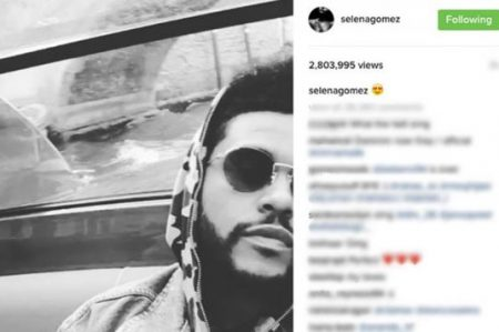 Selena Gomez publica video de The Weeknd