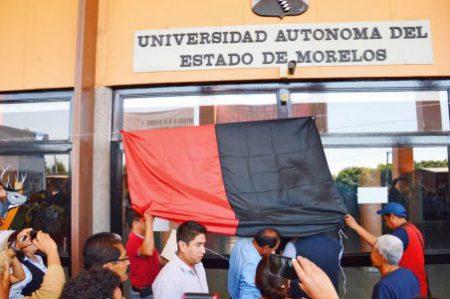 Trabajadores de Universidad Autónoma de Morelos levantan huelga