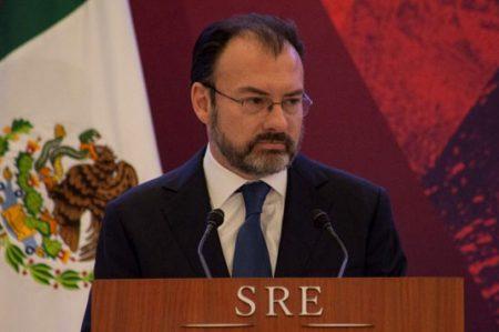 Videgaray analizará caso de Venezuela en la OEA