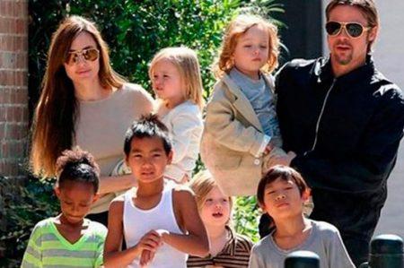 Angelina Jolie y sus hijos pasan Año Nuevo sin Brad Pitt