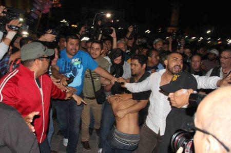 Disturbios en Monterrey dejan 32 detenidos (VIDEO)