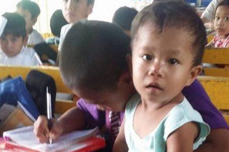 Historia de niños filipinos conmueven las redes sociales