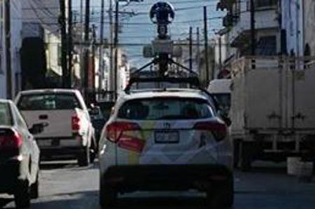 Regresa carro de Google Maps al Barrio Antiguo