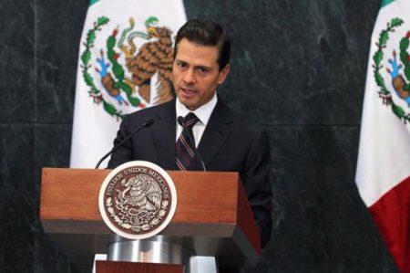 Peña Nieto anuncia acciones para impulsar economía del país