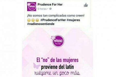 Critican a Prudence por mensaje sexista