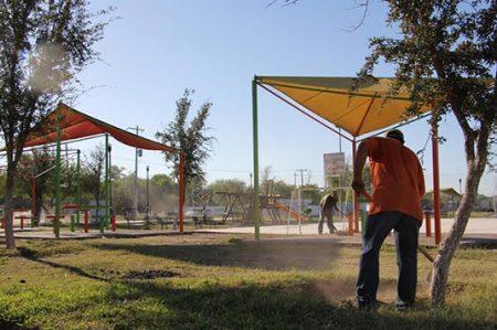 Rescate de parques y áreas verdes