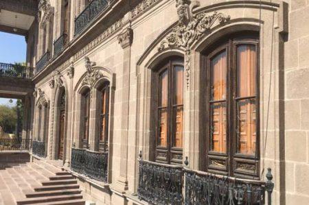 ¿Y los vidrios de Palacio?