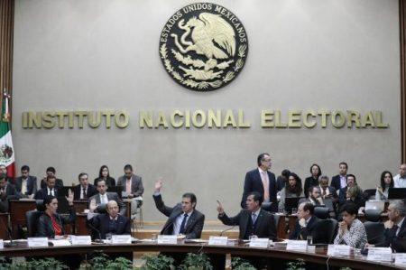 INE alista veda electoral para cuatro estados