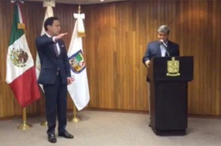 Bernardo González, nuevo encargado de despacho en la PGJE de Nuevo León