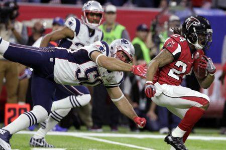 Atlanta sorprende con una dominante primera mitad en el Super Bowl LI