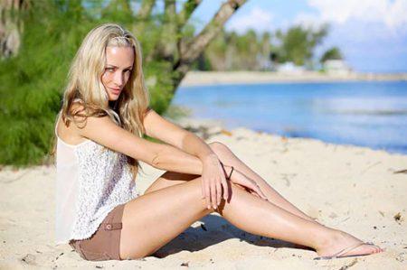 Reeva Steenkamp, la modelo que murió en manos de Oscar Pistorius
