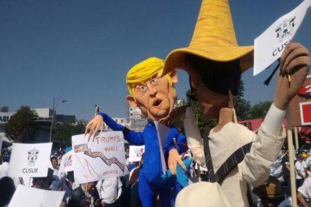 Marchan en los estados contra políticas de Donald Trump