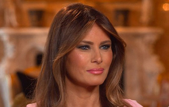Melania Trump se siente miserable