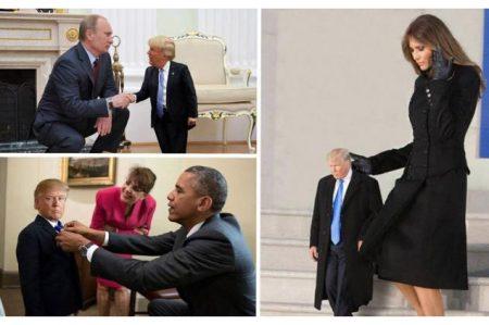 'Mini Trump', el meme que ataca el ego del presidente de EU