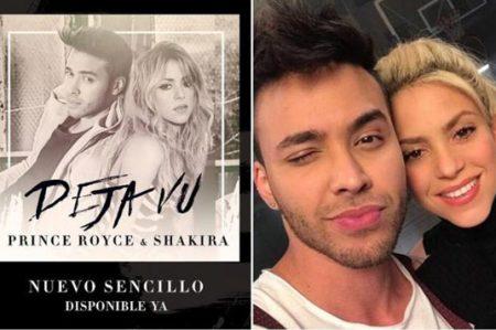 Prince Royce y Shakira cantan juntos en 'Deja Vu'