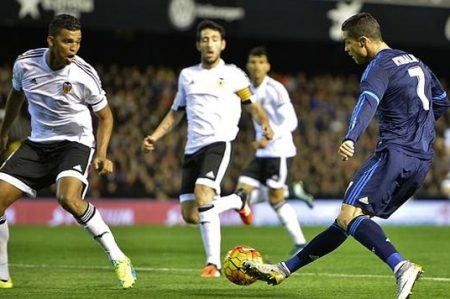 Real Madrid pierde 1-2 ante el Valencia
