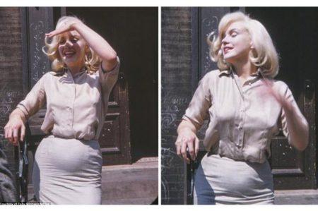 Salen a la luz fotos de Marilyn Monroe embarazada
