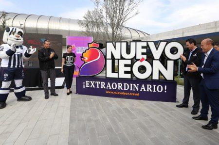 Se viste de Nuevo León Extraordinario el Estadio BBVA Bancomer