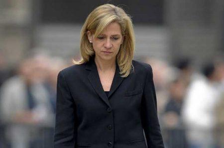 Corte española absuelve de fraude a la infanta Cristina de Borbón