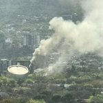 Controlan incendio en Planetario Alfa