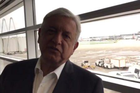 AMLO pide firmas contra Trump