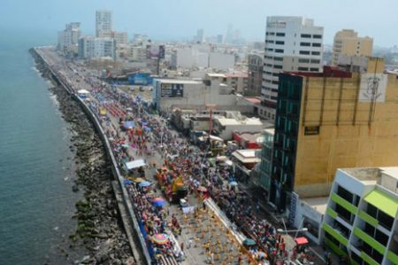 Por carnaval, ocupación hotelera está al 70% en Veracruz