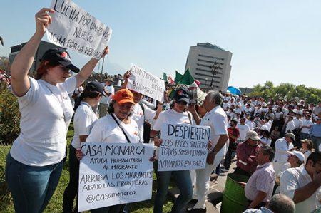 Alistan albergues para repatriados de EU en Nuevo León
