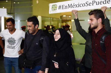 México acoge a tres estudiantes sirios