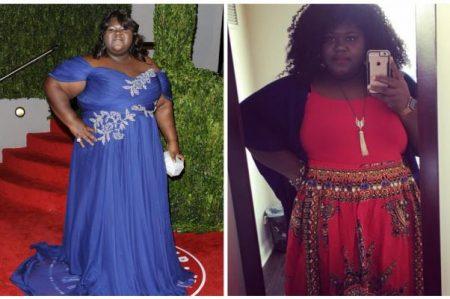 Protagonista de 'Precious' celebra pérdida de peso