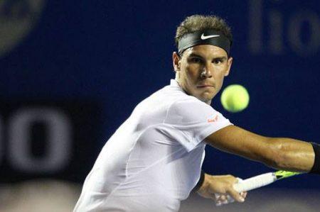 Nadal debuta con éxito en el Abierto Mexicano de Tenis