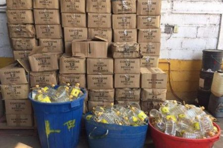 Aseguran más de 3 toneladas de precursores químicos en Michoacán