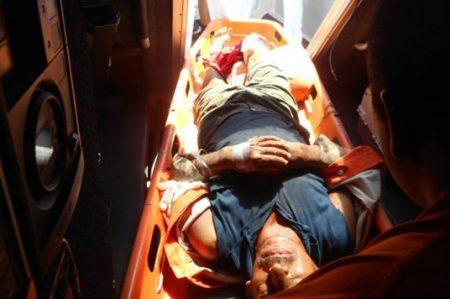 Atienden a pescador accidentado a bordo de buque camaronero