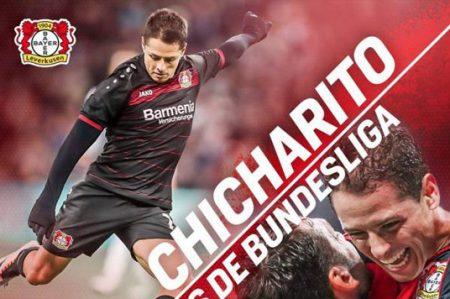 'Chicharito' Hernández suma 50 juegos en la Bundesliga