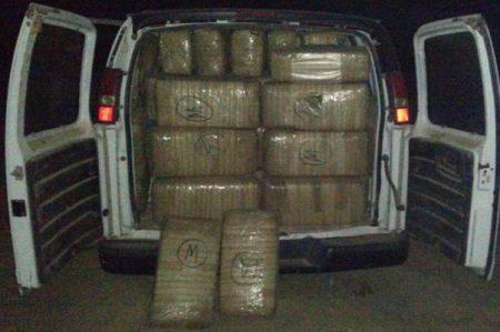 Decomisan 1.4 toneladas de marihuana y 24.7 kilos de cristal en Sonora