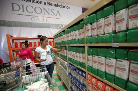 Diconsa etiquetará mercancía para favorecer la nutrición