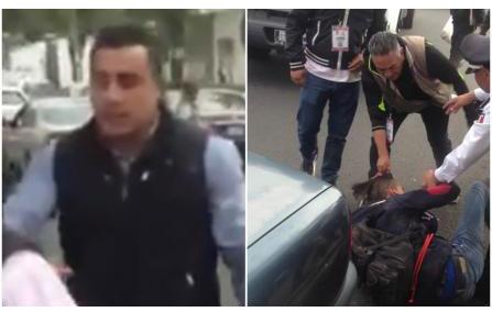 Despiden a inspectores que golpearon a vendedor en Toluca