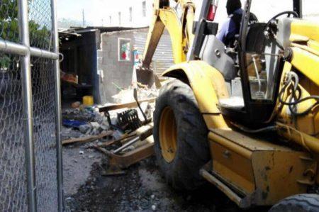Destruyen construcciones donde cavaron túnel en penal de Tamaulipas