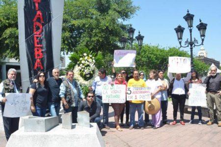 Periodistas de 4 estados protestan por asesinato
