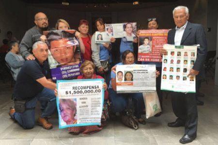Expresan apoyo a víctimas de desaparición en Morelos