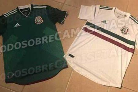 Filtran posible nueva playera de la Selección Mexicana