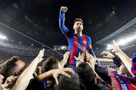 Fotografía de Messi tomada por mexicano da la vuelta al mundo